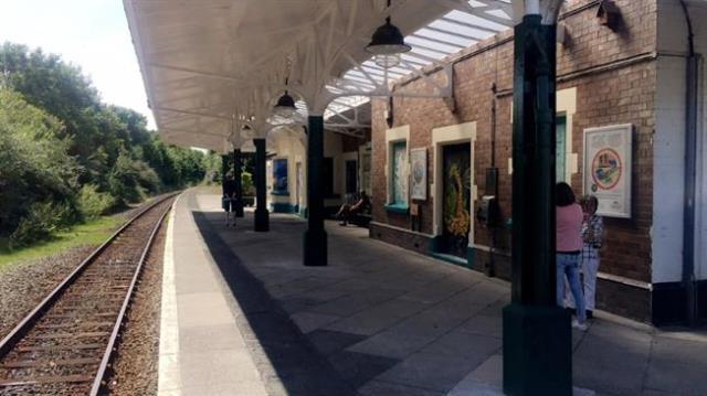 Criccieth Railway Station, Station Square, Criccieth, Gwynedd