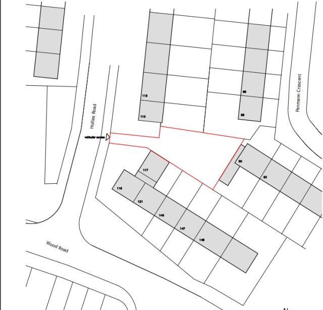Land Adjacent To 90 Penmann Crescent, Liverpool