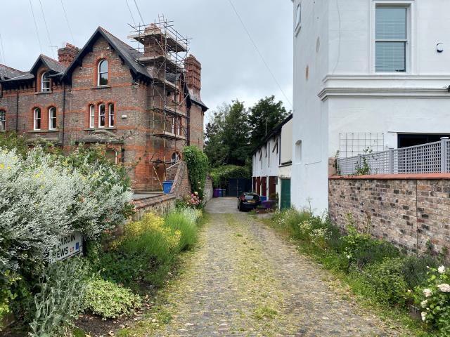 Former Workshop At Jardin Mews, Liverpool