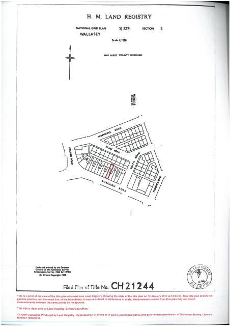 Land At 174 Borough Road, Wallasey, Merseyside