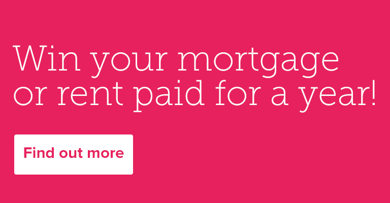 Win your mortgage or rent paid for a year!